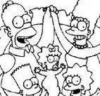 Pintar desenho dos Simpsons