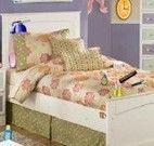 Objetos encontrados no quarto