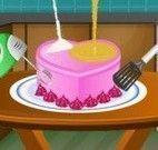 Bolo de aniversário coração fazer