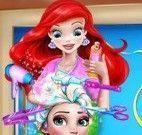 Ariel cabeleireira da Elsa