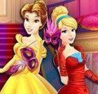 Princesas mosqueteiras shopping