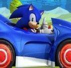 Sonic no carro