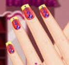 Decorar unhas da Barbie