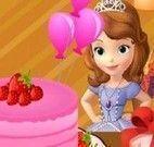 Decorar bolo da Princesa Sofia