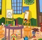 Limpar a sala das crianças