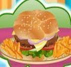 Montar hamburguer