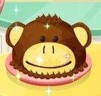 Fazer bolo de macaco da Sara
