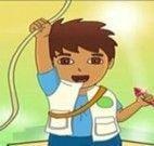 Aventura de Diego pegando Cristal