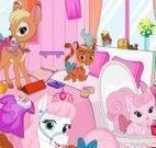 Limpeza do quarto dos bichinhos da Disney