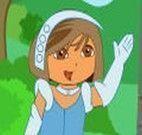 Vestir roupas na princesa Dora
