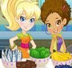Fazer Bolo da Polly e sua amiga Shani