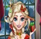 Elsa Frozen cabeleireiro Natal