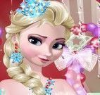 Maquiagem da princesa Elsa