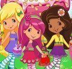 Moranguinho e amigas mundo dos doces
