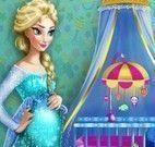 Elsa decorar quarto do bebê