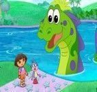 Dora Aventureira e o Dragão Verde