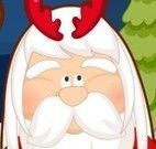 Papai Noel no cabeleireiro