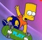 Moto com os Simpsons
