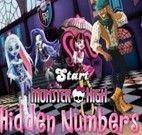 Jogos da Monster High de procurar números