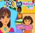 Maquiagem da Dora na escola