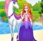 Princesa no cavalo branco