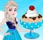 Elsa receita de sorvete
