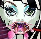 Cuidar da garganta da Frankie