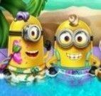 Minions piscina do spa