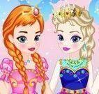 Vestir Elsa e Anna Frozen bebê