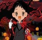 Vestir criança para Halloween