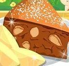 Receita de torta de maça e nozes