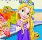 Rapunzel bebê decorar piscina