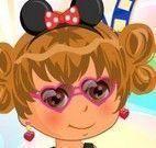 Bebê Dora no cabeleireiro