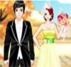 Vestir o casal de noivos