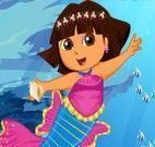 Vestir Dora sereia