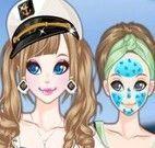 Limpeza de pele da marinheira