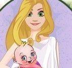 Princesa Rapunzel grávida