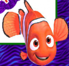 Achar Nemo no cenário