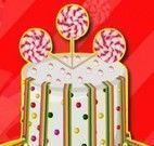 Decorar bolo com enfeites de doces