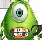 Monster Eye cuidar dos dentes