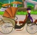 Princesa Sofia na carruagem