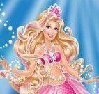 Barbie sereia vestir