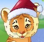 Vestir tigre natalino
