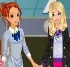 Vestir amigas na escola