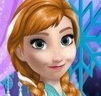 Anna Frozen maquiagem e roupas
