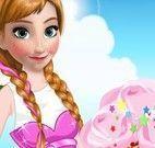 Anna decorar sorvete