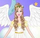 Vestir Barbie anjinha