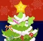 Enfeitar árvore de Natal