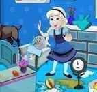 Elsa bebê arrumar quarto
