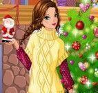 Vestir meninas para natal